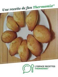 Madeleines moelleuses par Zibounet82. Une recette de fan à retrouver dans la catégorie Pâtisseries sucrées sur www.espace-recettes.fr, de Thermomix®.