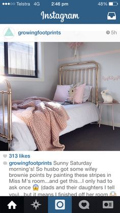 Incy interiors rose gold bed