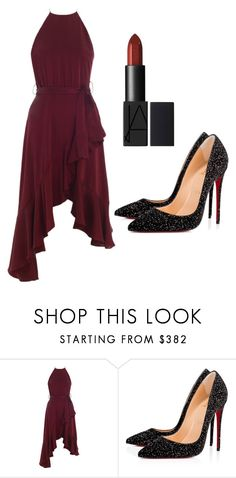 """Untitled #87"" by hayasafi ❤ liked on Polyvore featuring Zimmermann and Christian Louboutin"