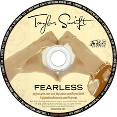 Caratula Cd de Taylor Swift - Fearless