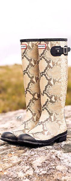 Safari Chic ● Hunter Boots ~ Tнεα