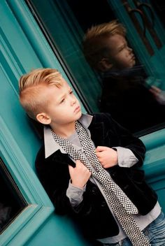 My future son. ha. Love this kids 'hawk.