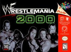 WWF Wrestlemania 2000 Nintendo 64 Cover