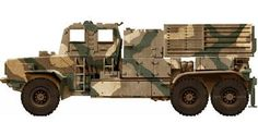 Bateleur 127 mm 40 tube multiple rocket launcher of SADF Modern Warfare, Armored Vehicles, Military Vehicles, Colonial, Africa, Army, Sd, Tanks, Tube