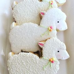 Lamb cookies // flourbatchcustomcookies