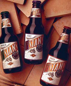 St. Stan Beer - Designed by Michael Osborne Design