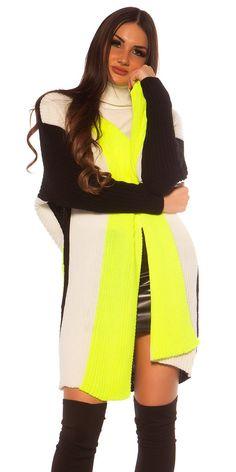 Trendy pruhovaný oversized kardigan bez zapínania. Univerzálna veľkosť. Sweaters, Dresses, Fashion, Blouses, Vestidos, Moda, Fashion Styles, Sweater, Dress
