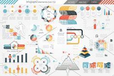@newkoko2020 Infographic Elements (v15) by Infographic Paradise on @creativemarket #infographic #infographics #bundle #design #template #megabundle #bigbundle #presentation #vector #business #layout #creative #graph #information #visualization