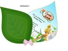 TINKERBELL Invitation by EmySouvenir on Etsy, $6.00