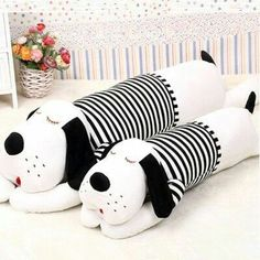 Super Ideas For Sewing Pillows Animals Fabrics - Stofftiere Fabric Toys, Fabric Crafts, Sewing Crafts, Sewing Projects, Sew Toys, Handmade Pillows, Decorative Pillows, Fabric Animals, Sewing Pillows
