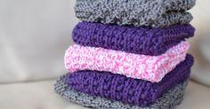 Oppskrifter på strikketkluter, kluter, strikkakluter Washing Clothes, Pot Holders, Knit Crochet, Cross Stitch, Knitting, Pattern, Handmade, Dishcloth, Cloths