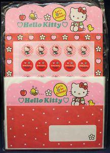 Japan Sanrio Hello Kitty Letter Set - Bee