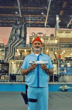 Bill Murray / The Life Aquatic with Steve Zissou.