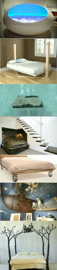 cool beds by lela Awesome Bedrooms, Cool Rooms, Coolest Bedrooms, Dream Rooms, Dream Bedroom, Dreams Beds, Cool Beds, My New Room, My Dream Home