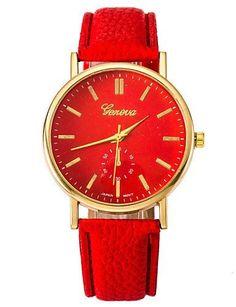 SKLIT männliche und weibliche Paar Mode-Uhren Gold-Schale-PU-Gurt - http://uhr.haus/sklit-watches/sklit-maennliche-und-weibliche-paar-mode-uhren-pu