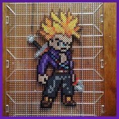 Tunks Dragon Ball perler beads by  mastablasta3