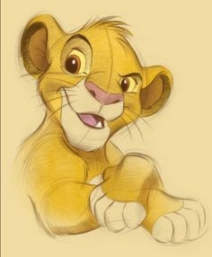 Simba sketch