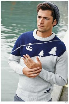 Sean OPry Models Smart Fall 2014 Styles for Next image Sean OPry Next Fall Winter 2014 005