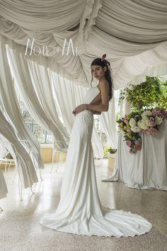 NotediMe collection 2016, Beauty of Nature In the pics Dea Artemide, Morena Mampieri #morenamampieri #beautyofnature #notedime #abitidasposa #weddingdress #madeinintaly