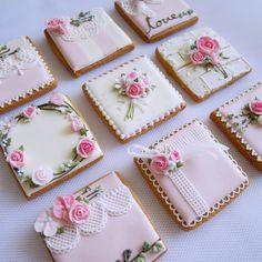 So cute cookies- Mother's Day- Pink Cookies, Tea Cookies, Fancy Cookies, Flower Cookies, Valentine Cookies, Easter Cookies, Birthday Cookies, Royal Icing Cookies, Cupcake Cookies
