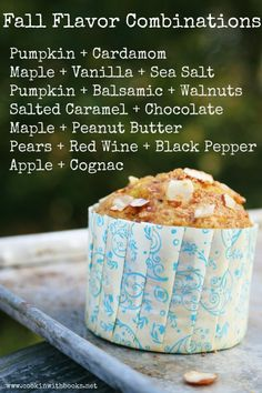 Fall Flavor Combinations