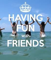 We all deserve some fun in our lives.but you can't beat having fun with friends True Friends, Best Friends, Still Alice, How To Find Out, How To Make Money, Whats Today, English Projects, Friends Poster, Body Shop At Home