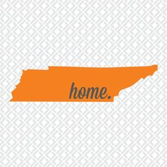 Tennessee Home Cutting Files in Svg Eps Dxf and by OlSouthDesigns