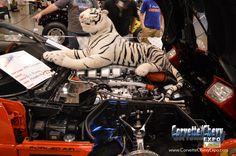 Custom 1994 #Chevrolet #Corvette #showcar owned by Bill Murray @ Corvette #Chevy Expo in #Houston #Texas #corvettechevyexpo
