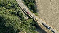 Paso de Pescadero, en la vía de Piedracuesta a San Gil, en el departamento de Santander