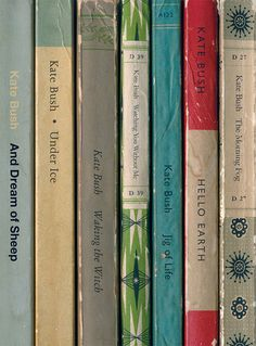 Kate Bush Hounds of Love Album As Penguin Books от StandardDesigns