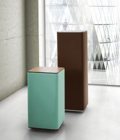 This could be a nice bass trap! Freestanding columns | Acoustic furniture | RELAX 040 | Ydol.