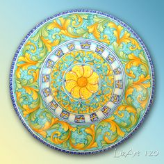 Ceramiche dipinte a mano,Costiera Amalfitana,terracotta,vasi,orci,piatti,portaombrelli,servizio piatti,decori,Praiano,Positano