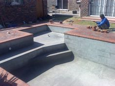 Building a Cement Block Pool | DIY BUILD YOUR OWN POOL - building / trades - Kenilworth