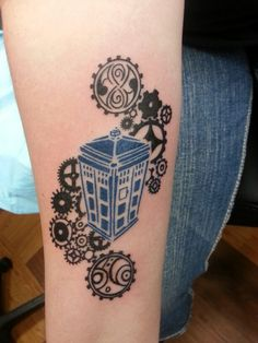 I would just get the TARDIS part of this, with a quote from the fiftieth.