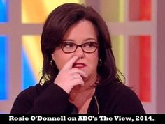 "Rosie O'Donnell threatens to smear menstrual blood on pro-lifers' faces File this under ""Liberals Are Tolerant, Caring People"". FOUL LANGUAGE WARNING: If you continue to read on, you may be offended by words that start with F and A. They are not my words, but words spoken by Rosie O'Donnell. LOWLIFE trash"
