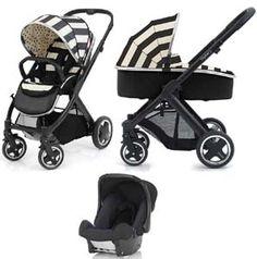 BabyStyle Oyster 2 Vogue Pram Travel System Humbug Black Chassis Brilliant http://babiesprams.net