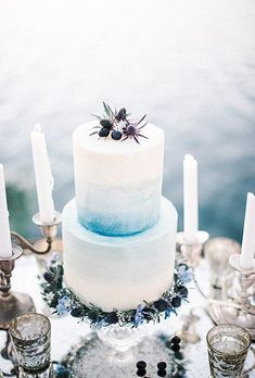From gorgeous geometric designs to contemporary confections, these modern wedding cakes make for an ultra-trendy end to a beautiful big day.