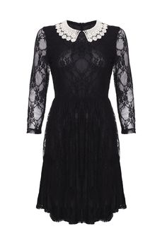 Loving this... May have to be my Christmas party dress, very Wednesday Addams