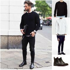 8 Best Black Chelsea Boots Images Man Style Man Fashion Men S