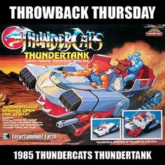 ThunderCats Fans! Remember this Battle Tank? #TBT