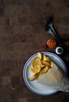 potato wedges from aisha yusaf