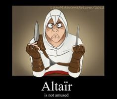 And they've became best friends ever since. It took me awfully long time to finish, Altair's expressions were worth that though xD Aaah, I must draw Altair trolling more often, it's just so a. Assassian Creed, All Assassin's Creed, Assassins Creed Comic, Assassin's Creed Wallpaper, Leap Of Faith, Pirates Of The Caribbean, Memes, Pokemon, Geek Stuff