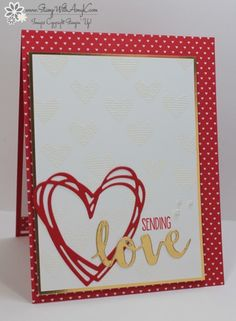 Stampin' Up! Sunshine Sayings Sending Love for the Happy Inkin' Thursday Blog Hop