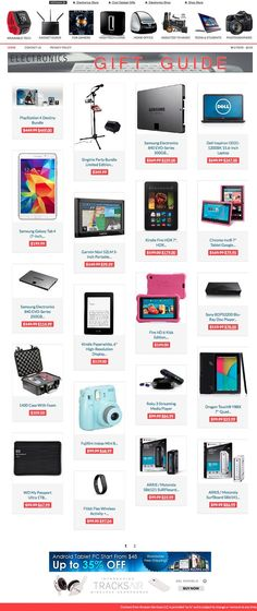 Best electronics gift guide deals and ideas Mobile Responsive, Responsive Layout, Electronic Workbench, Affiliate Websites, Electronic Gifts, Electronics Projects, Gift Store, Gift Guide, How To Become