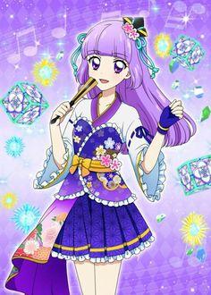 Purple Kimono Sumire Hinaki
