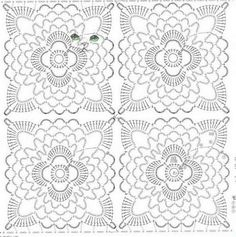 Hooked on crochet: Crochet top / crochet blouse Filet Crochet, Crochet Bolero, Crochet Chart, Thread Crochet, Irish Crochet, Crochet Stitches, Crochet Top, Crochet Vests, Cross Stitches