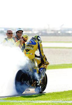 k sgommata - Valentino Rossi