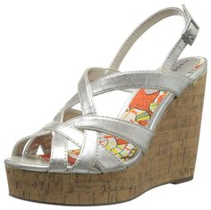 Madden Girl Women's Ennette Espadrille Sandal * Find out more details by clicking the image : Strappy sandals Espadrille Sandals, Strappy Sandals, Espadrilles, Up Styles, Wedges, Stuff To Buy, Shoes, Image, Fashion