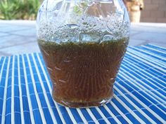 Absolutely delicious fat-free salad dressing. It is tangy and sweet. Perfect for a low-fat diet or just a change from the same old Italian dressing.