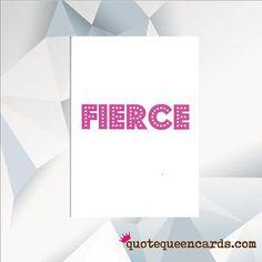 FIERCE Rupaul Birthday Card Ru Pauls Drag Race Birthday